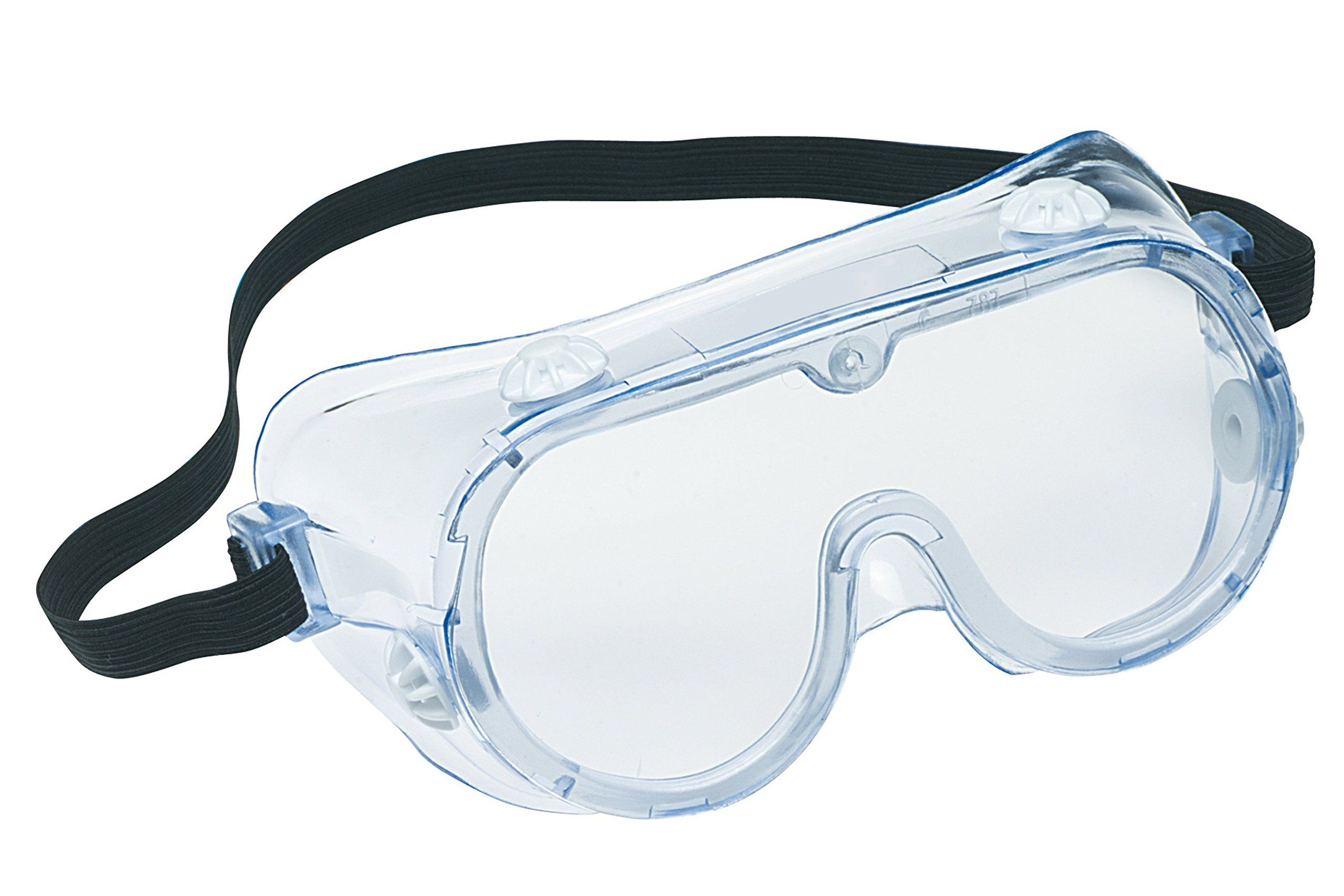 3M 912528002410 Chemical Splash/Impact Goggle, 10Pack