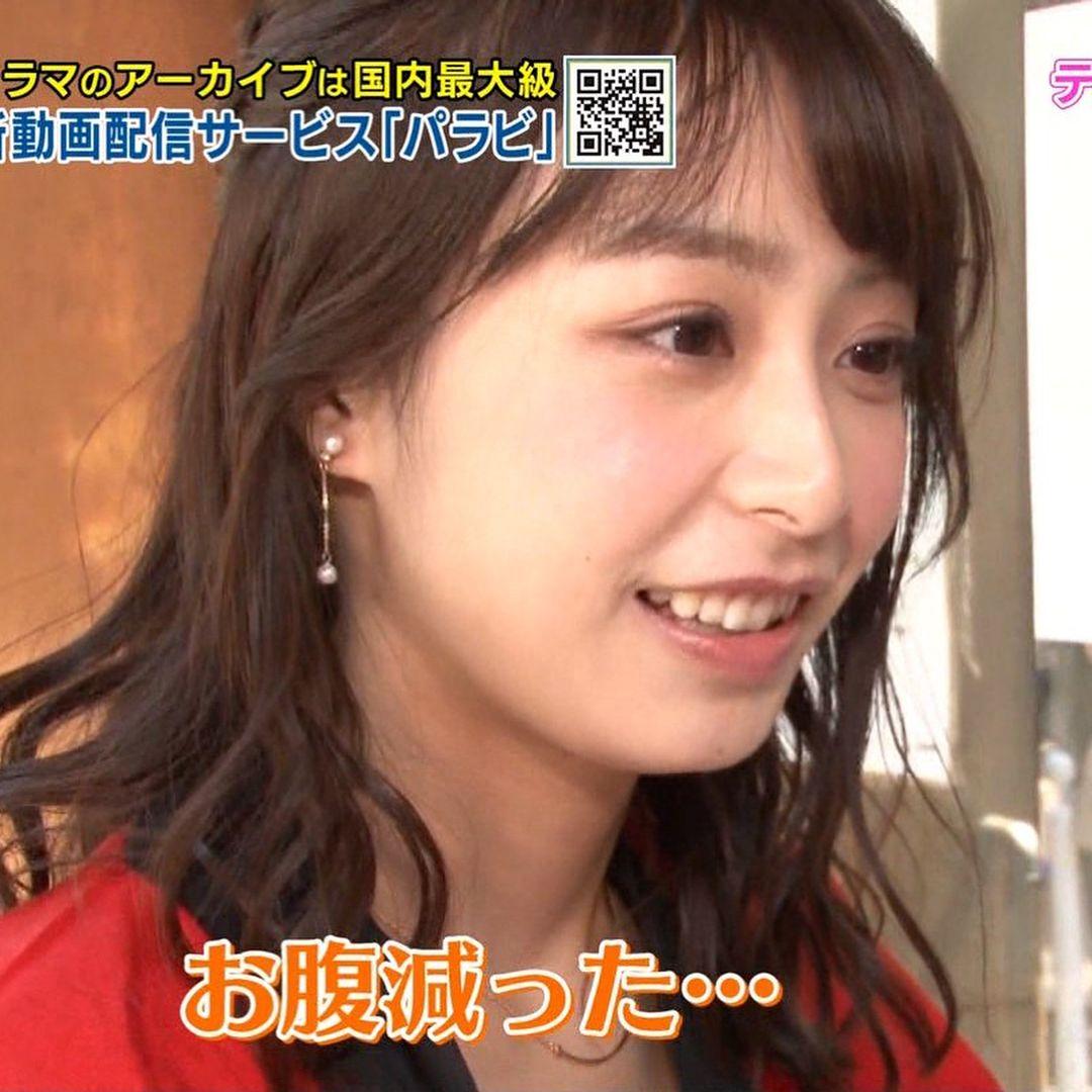 TBS 宇垣美里 植田もも子 tbsアナウンサー 女子アナ 美乳