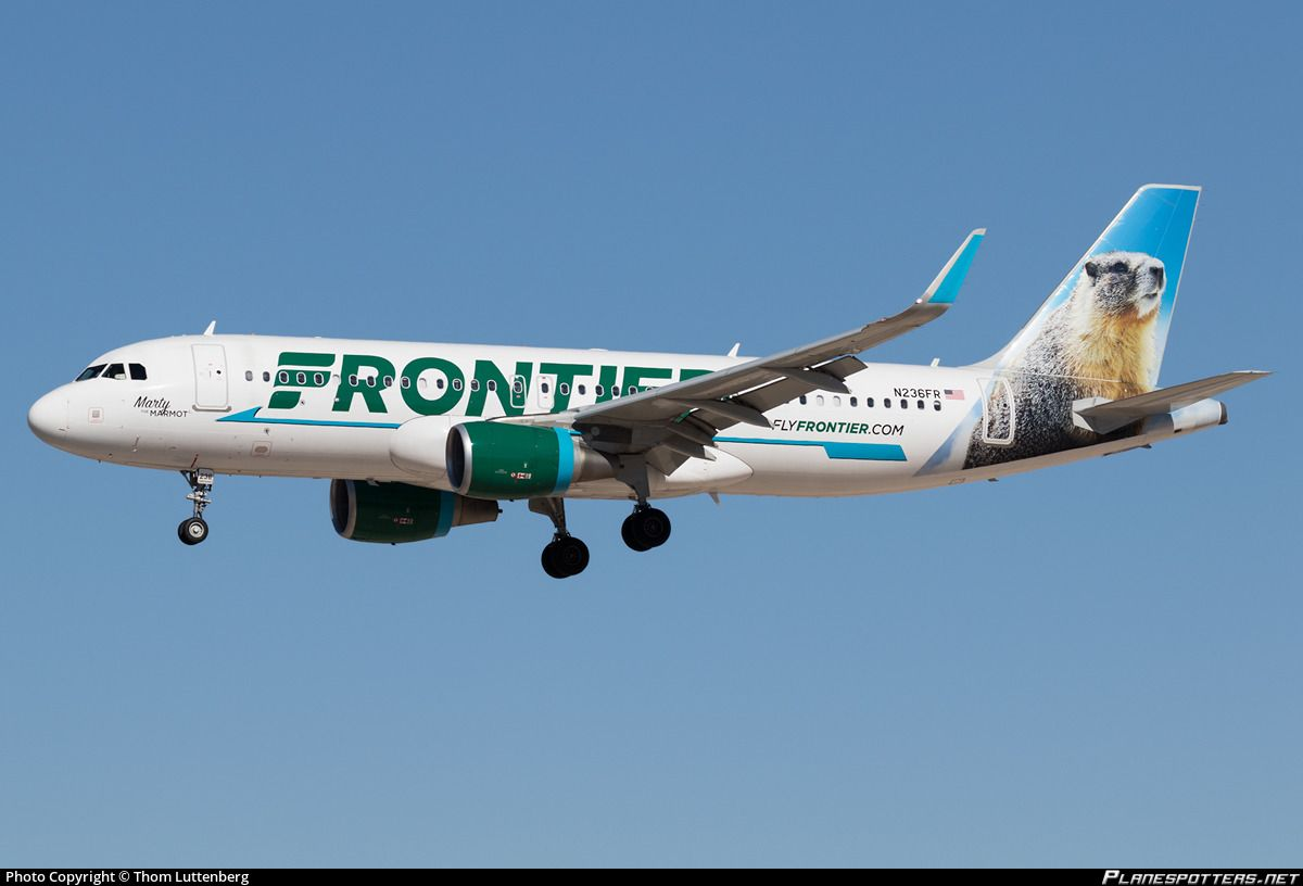 Airline: Frontier Airlines Registration: N236FR Aircraft