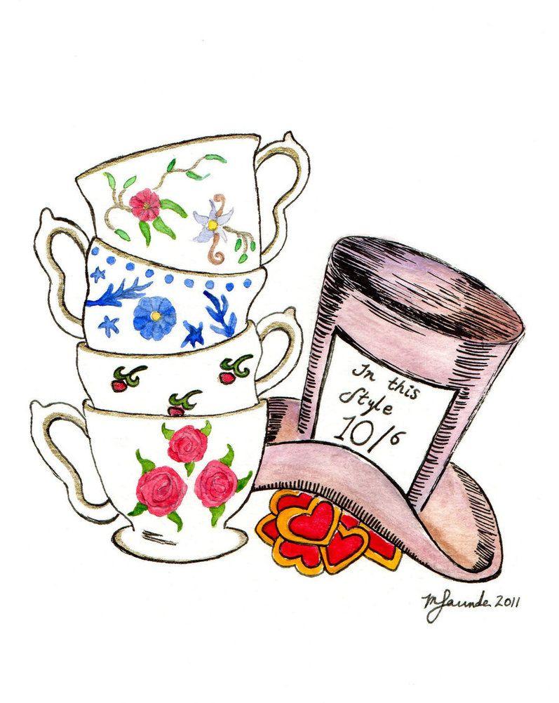Mad Hatter S Tea Party By Kookycherry On Deviantart Mad Hatter