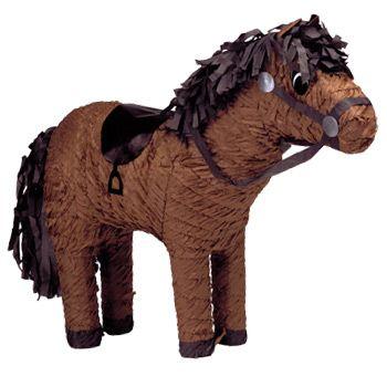 pinata anniversaire cheval