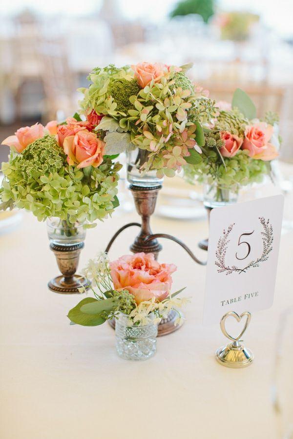 Blumengestecke Tisch Design Idee