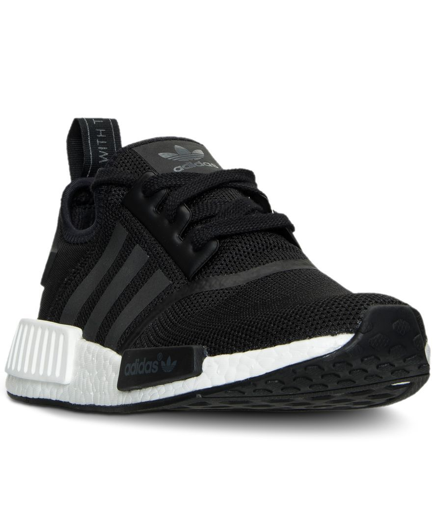 adidas Big Boys  Nmd Casual Sneakers from Finish Line  88c6f729e3c6