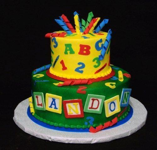 Photo of Cricut cake – ABC 123 #123cake –  Cricut cake – ABC 123 #123cake  – #123cake #…