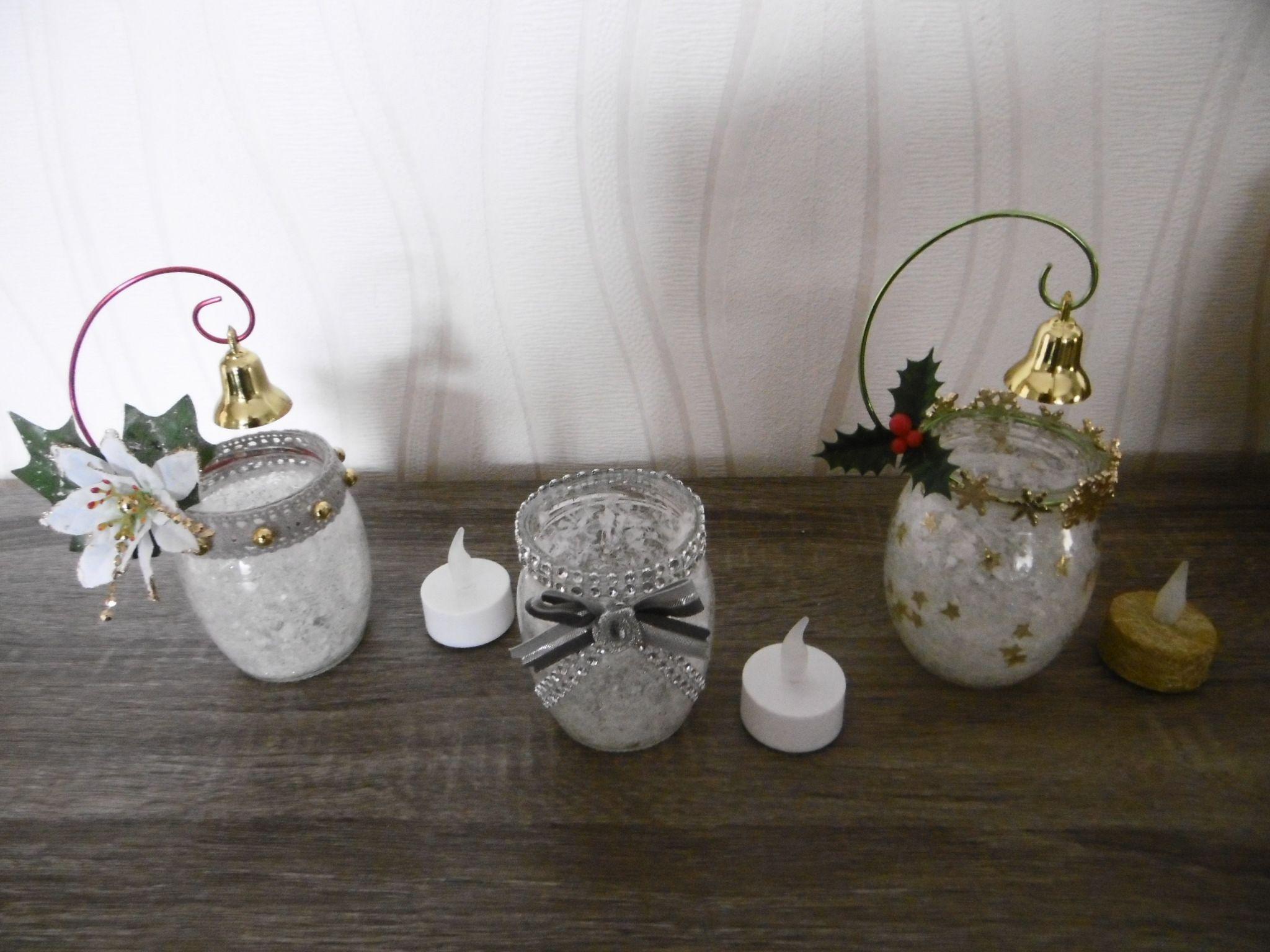 D'autres modèles de lanternes   Pot en verre, Lanterne, Bricolage noel