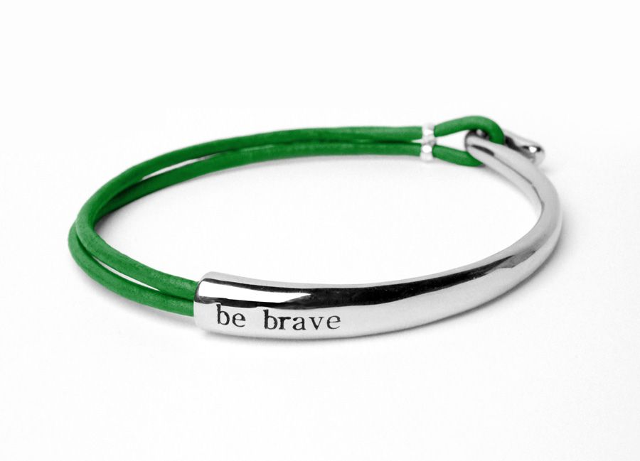 Mental Illness Bracelet 35 00 Bravelets Bracelets Are Made To Help You Be Brave During Tough Times Wear It Proudly For Yourself Or A Loved One