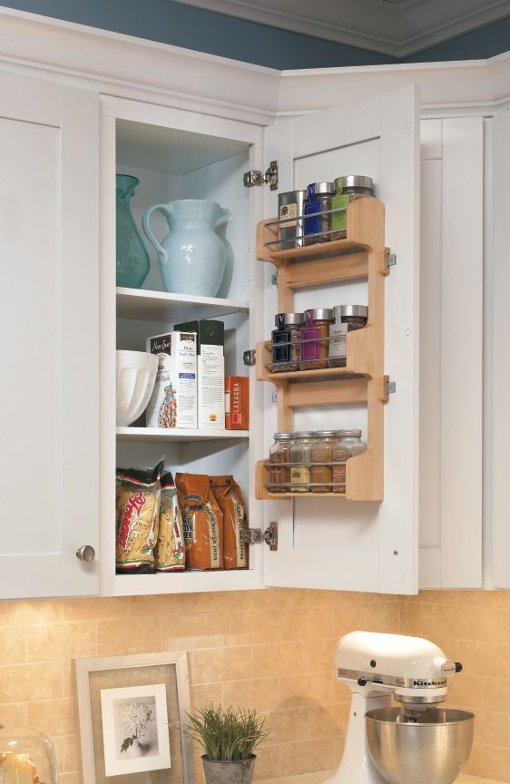 Surprising Aristokrafts Wall Spice Rack Keeps Spices Accessible And Interior Design Ideas Pimpapslepicentreinfo