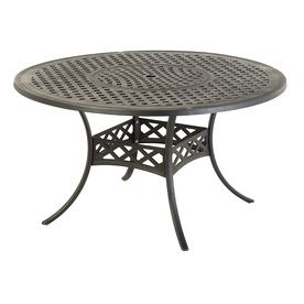 Allen Roth Whitley Place In X In Round Patio Dining Table - 54 round patio table