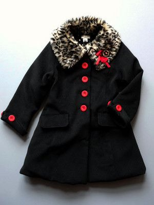 2438c6c1ed3be Josette Black coat by Eliane et Lena now available for preorder