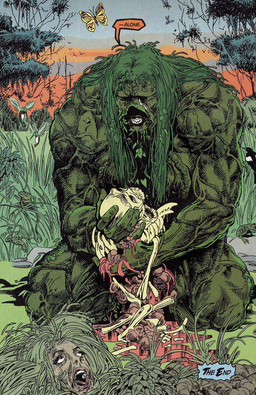 Swamp Thing 0023 Jpg Jpeg Image 1000 1542 Pixels Scaled 59 Dc Comics Art Horror Art Comic Art