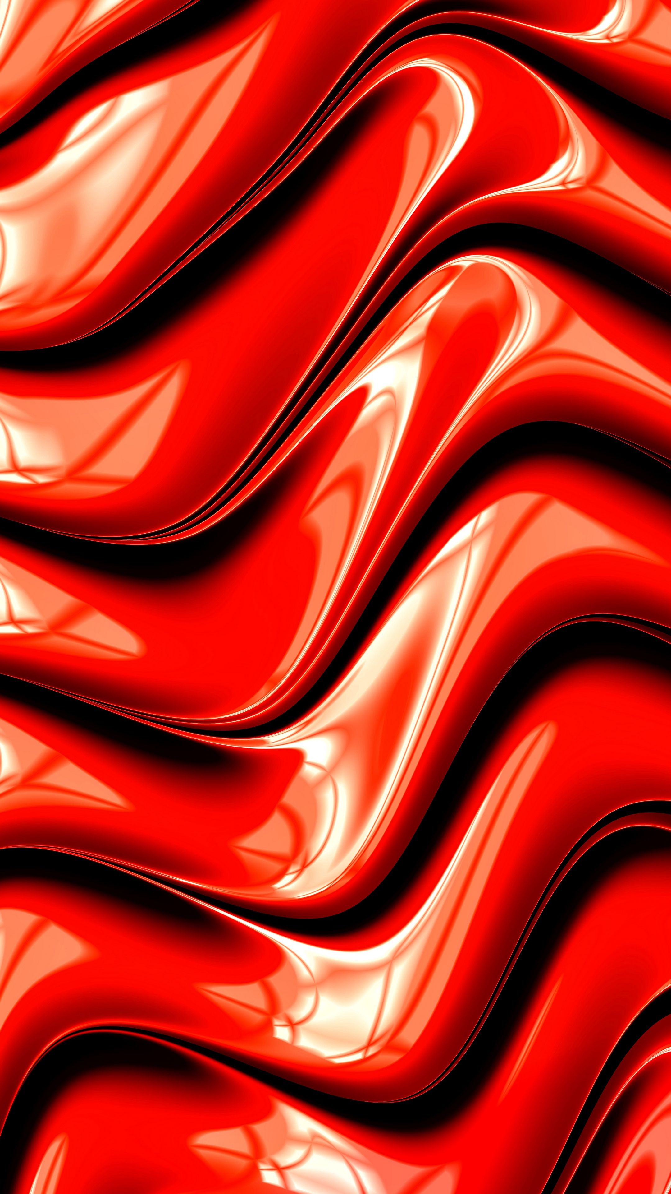 Abstract Fractal Graphic Red Surface Wallpapers Hd 4k Background For Android Fond D Ecran Colore Fractal Fond Ecran Iphone