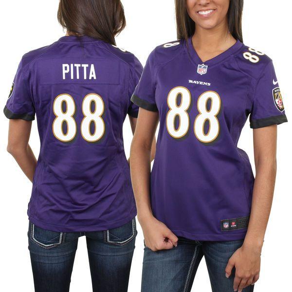 Nick Mangold jersey Dennis Pitta Baltimore Ravens Nike Women's ...