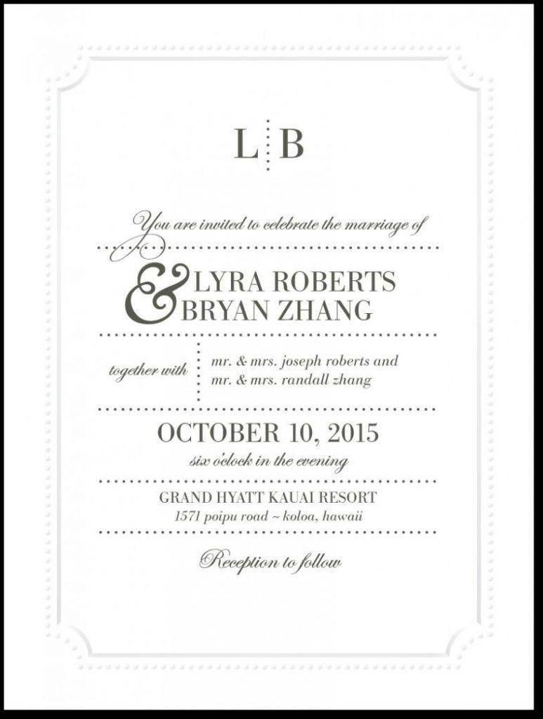 4 Spanish Invitation Template  Wedding invitation wording