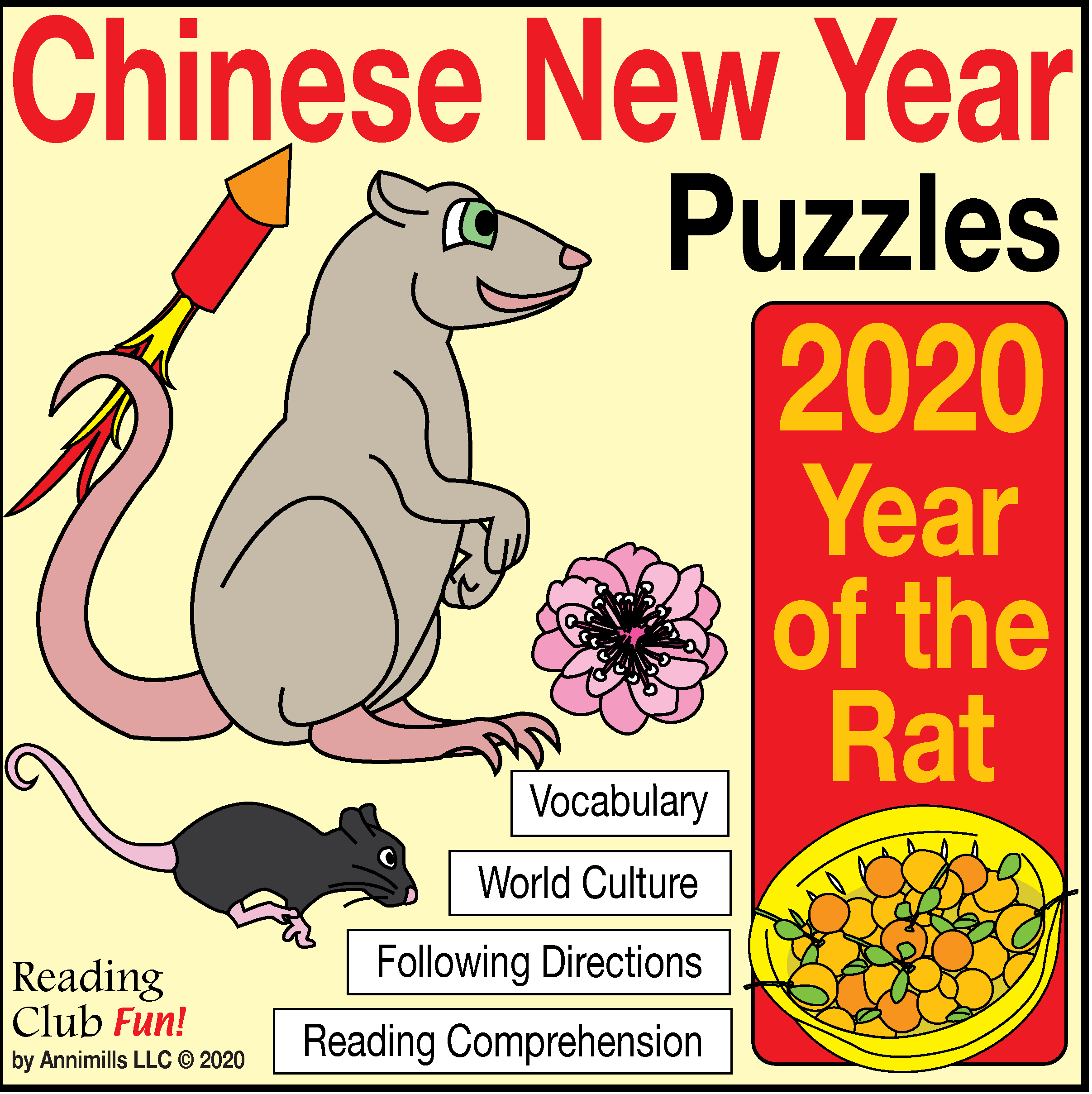 Chinese New Year Year Of The Rat Pack With Bonus