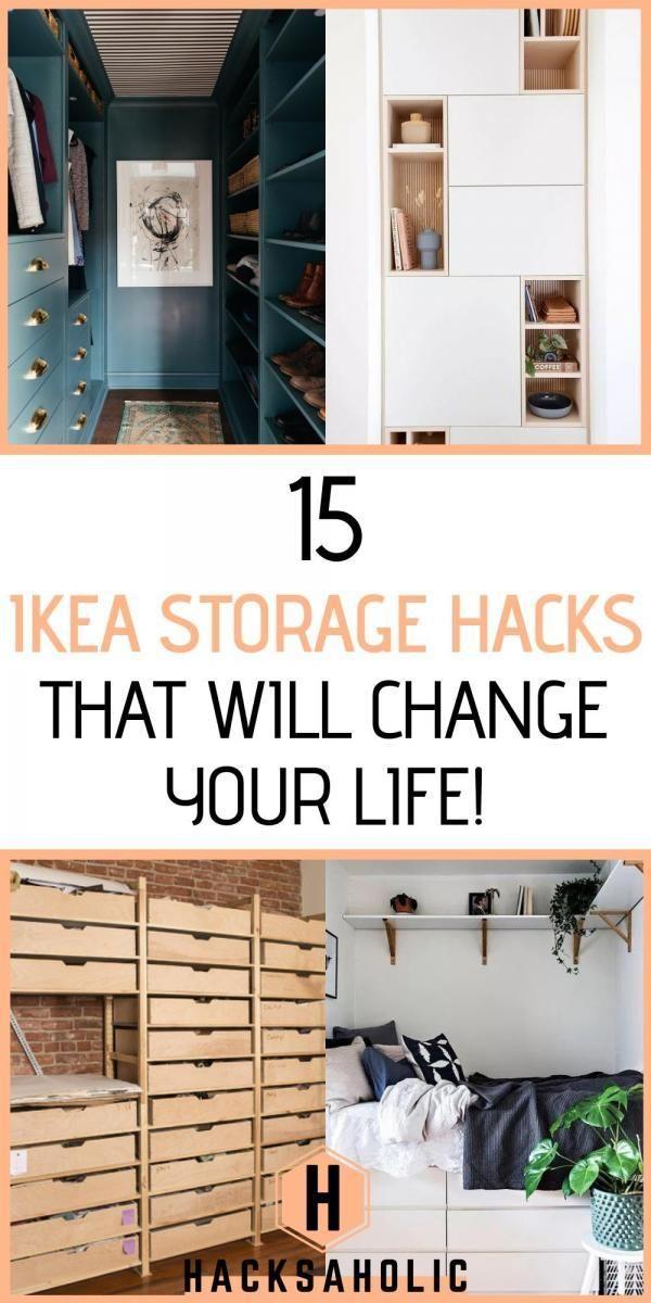 Photo of 15 Ikea Storage Hacks That Will Change Your Life – Hacksaholic