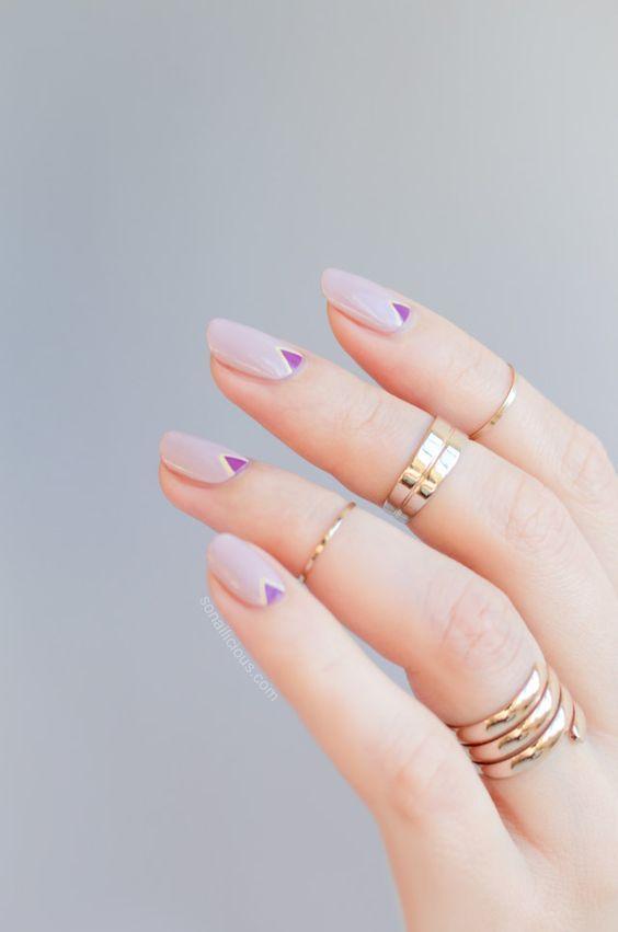 Diseños de uñas que quedarán con cualquier vestido de graduación ...
