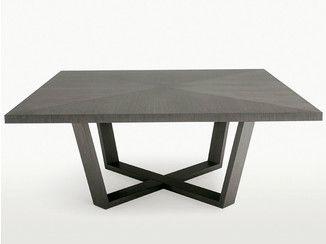Tavolo Industriale Quadrato : Tavolo quadrato in legno xilos tavolo quadrato maxalto a