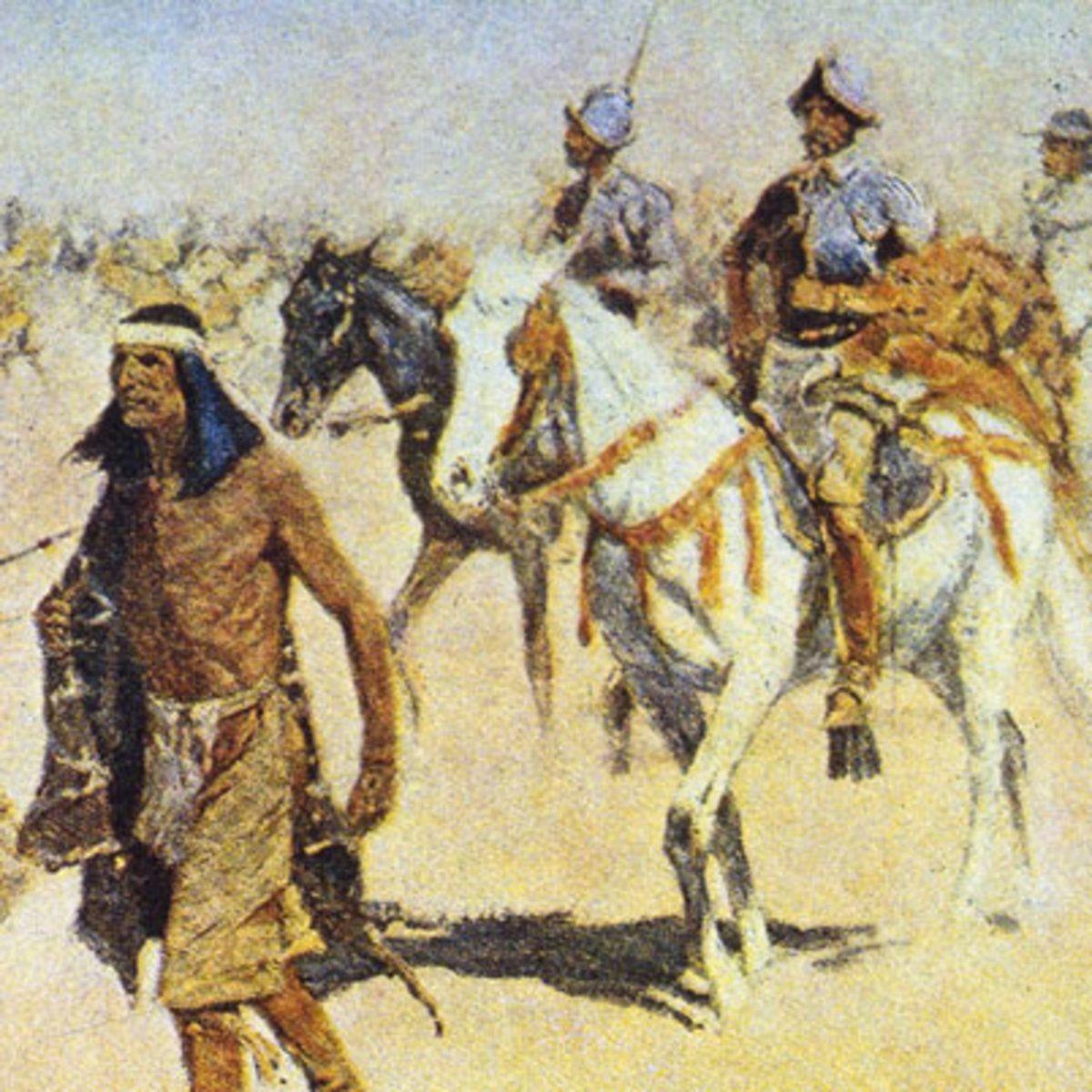 The Expedition Team Of Francisco Vazquez De Coronado
