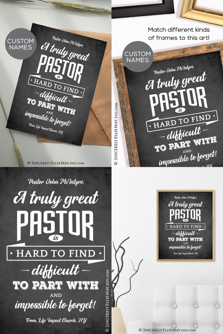 Pastors customized gifts for men thank you pastor etsy