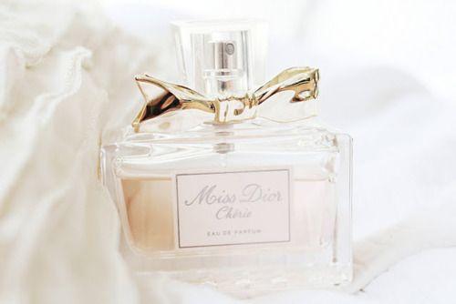 Gold Bow X Miss Dior Cherie Perfume Perfume Dior Perfume
