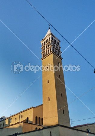 St. Bartolomeo church, Prato, Tuscany, Italy — Stock Photo