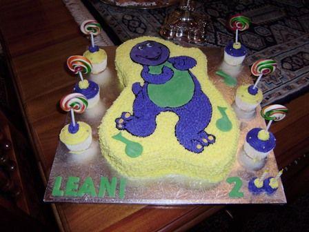 Boys Party Themes | Barney
