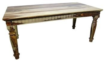Primo Rustic Spanish Colonial Dining Table Tres Amigos