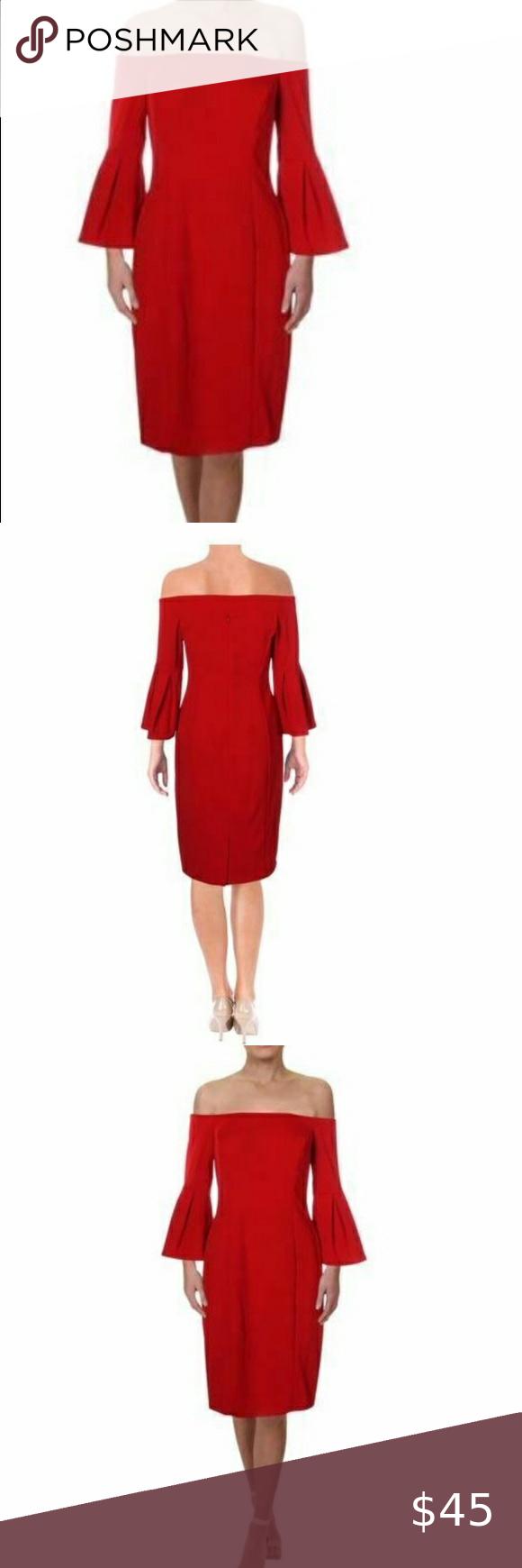 Vince Camuto Off Shoulder Dress Red Size 6 Nwot Vince Camuto Off Shoulder Dress Red Bell Sleeve Knee Length Size 6 Nwot In 2020 Red Dress Off Shoulder Dress Dresses [ 1740 x 580 Pixel ]