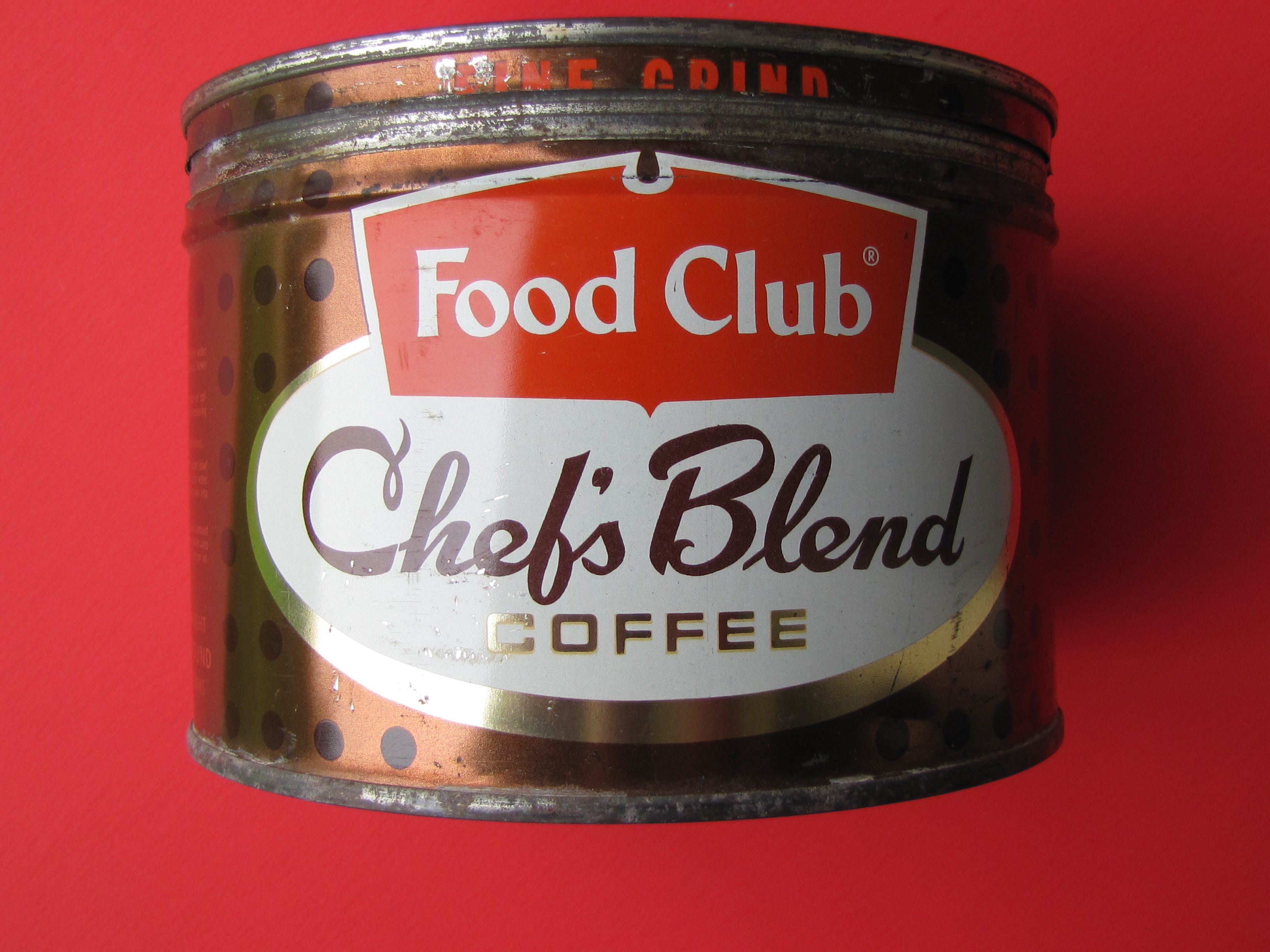 Chefs blend coffee early 60s my collection blended