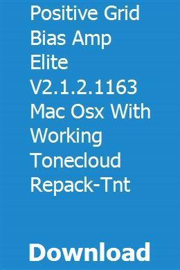 Positive Grid BIAS AMP 2 Elite Crack (With Working ToneCloud) Download