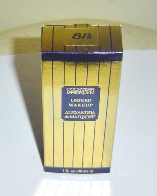 Alexandra De Markoff Countess Isserlyn Liquid Makeup 81 1 2 Boxed
