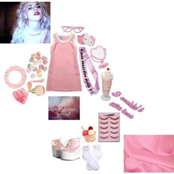 """""""candy bear sweetie pie, wanna be adored..."""" by sourbay on Polyvore"""