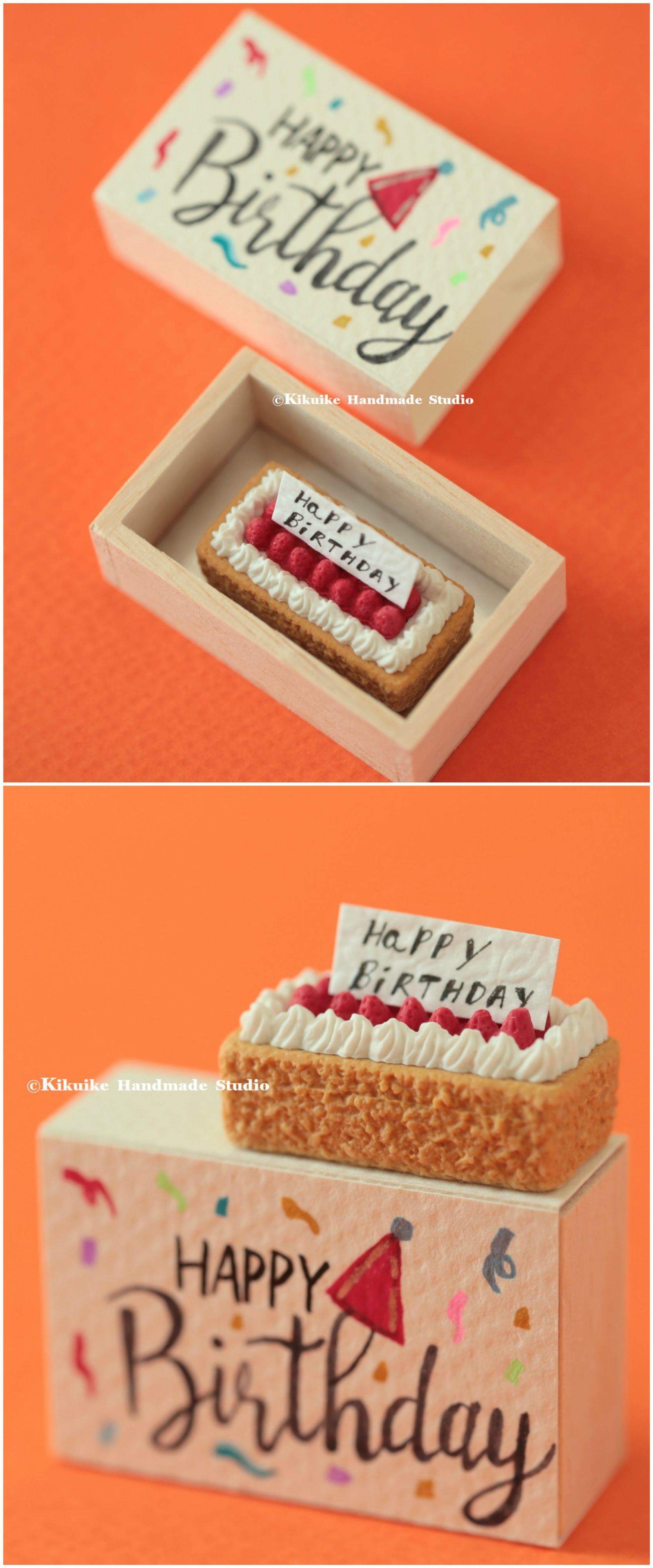 Happy Birthday Matchboxbirthday CardMiniatures Matchbox CardValentines GiftFunny Love