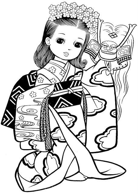 japanese letters coloring pages - photo#36
