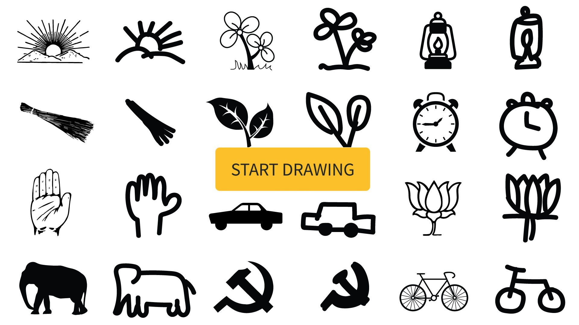 Learn the meaning behind India's parties' symbols by ...