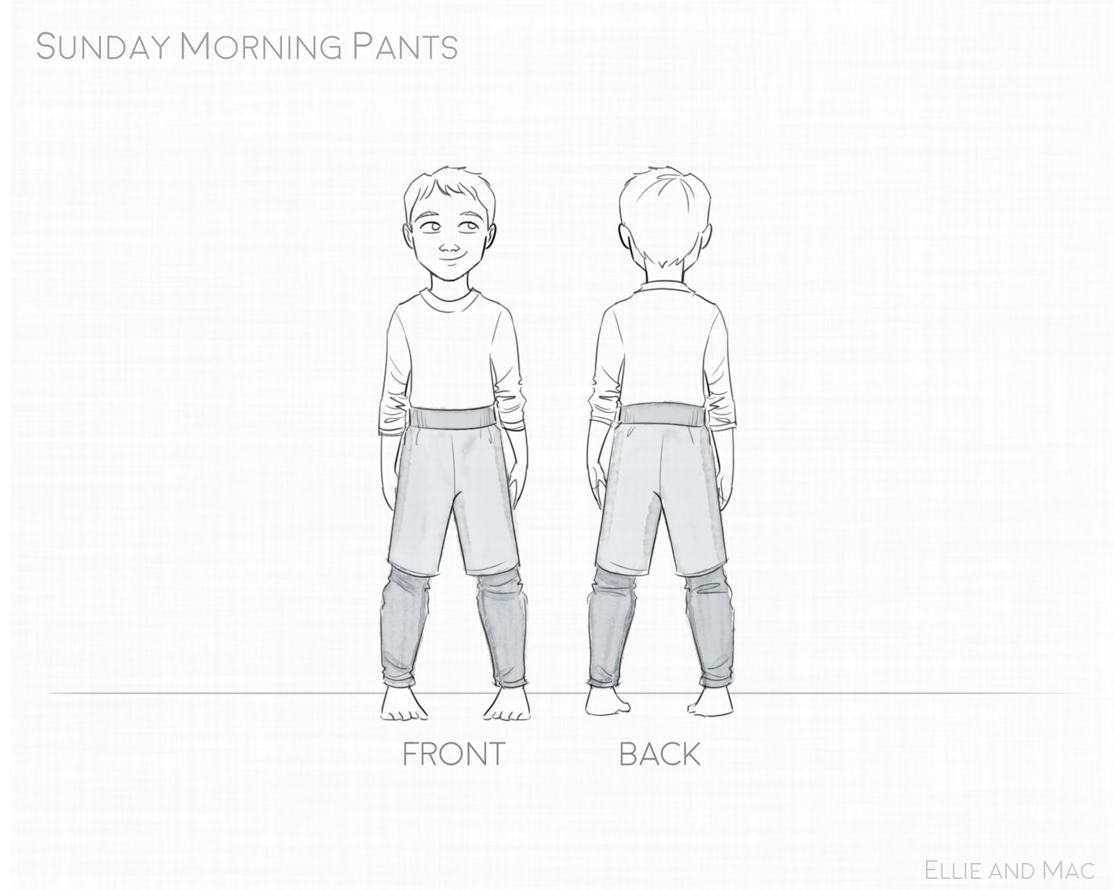 Sunday Morning Sweats Pattern Wacky With Images Children