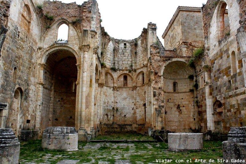 El monasterio de san Pedro de Arlanza en Hortigüela, de Burgos