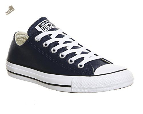 Converse Womens Chuck Taylor Ox Nighttime Navy Leather Trainers 6 US -  Converse chucks for women