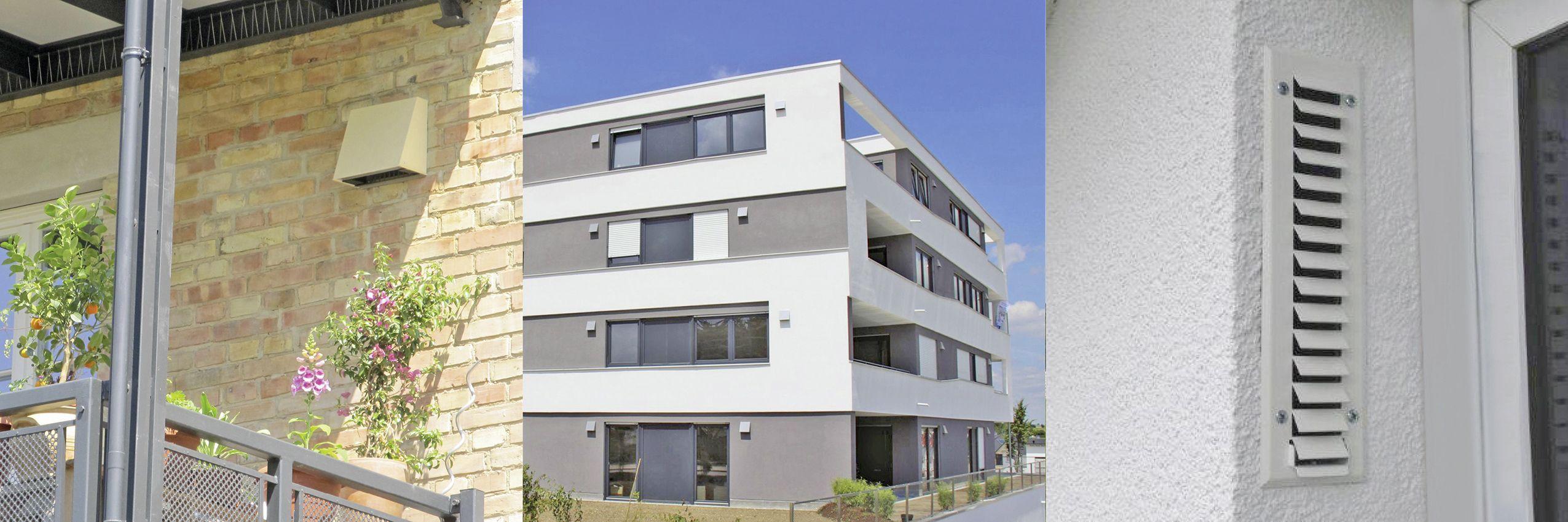 Wie Funktioniert Eigentlich Eine Dezentrale Wohnungsluftung Mit Ruckgewinnung Luftung Moderne Architektur Und Luftungsanlagen