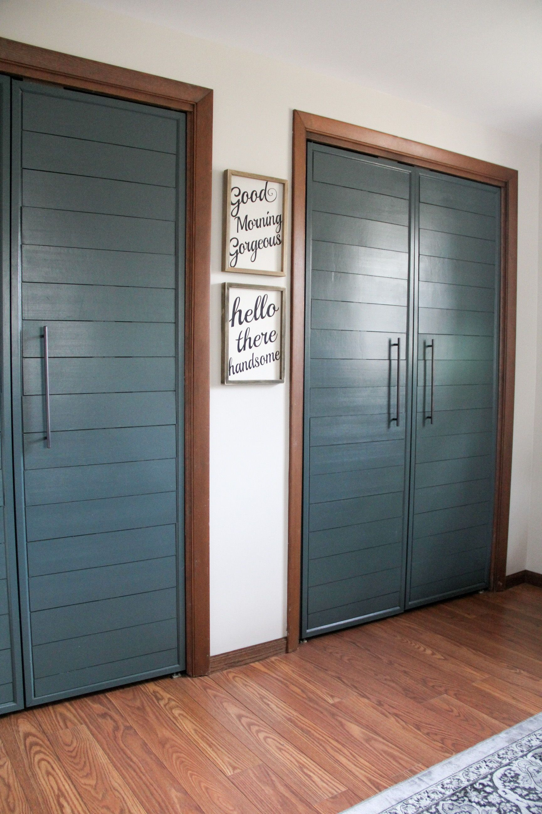 Stylish Ways To Turn Doors Into Show Stoppers French Closet Doors Diy Closet Doors Modern Closet Doors