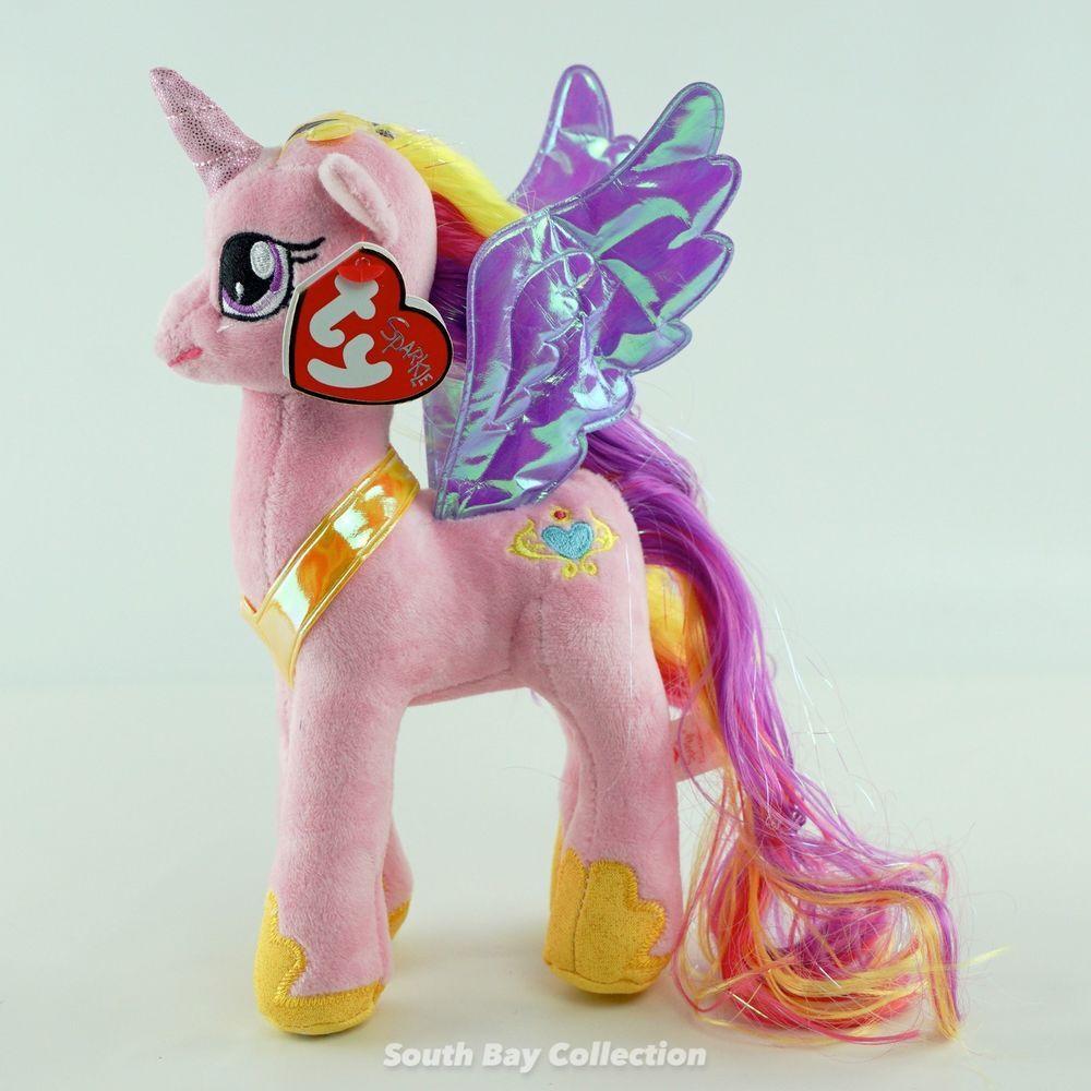 Ty Beanie Babies My Little Pony Princess Cadance 7
