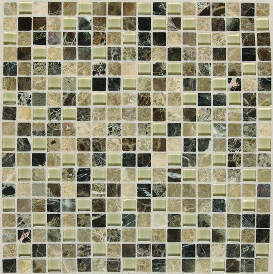 American Olean Legacy Gl Tannery Blend Random Linear Mosaics Accent Backsplash Tile See More