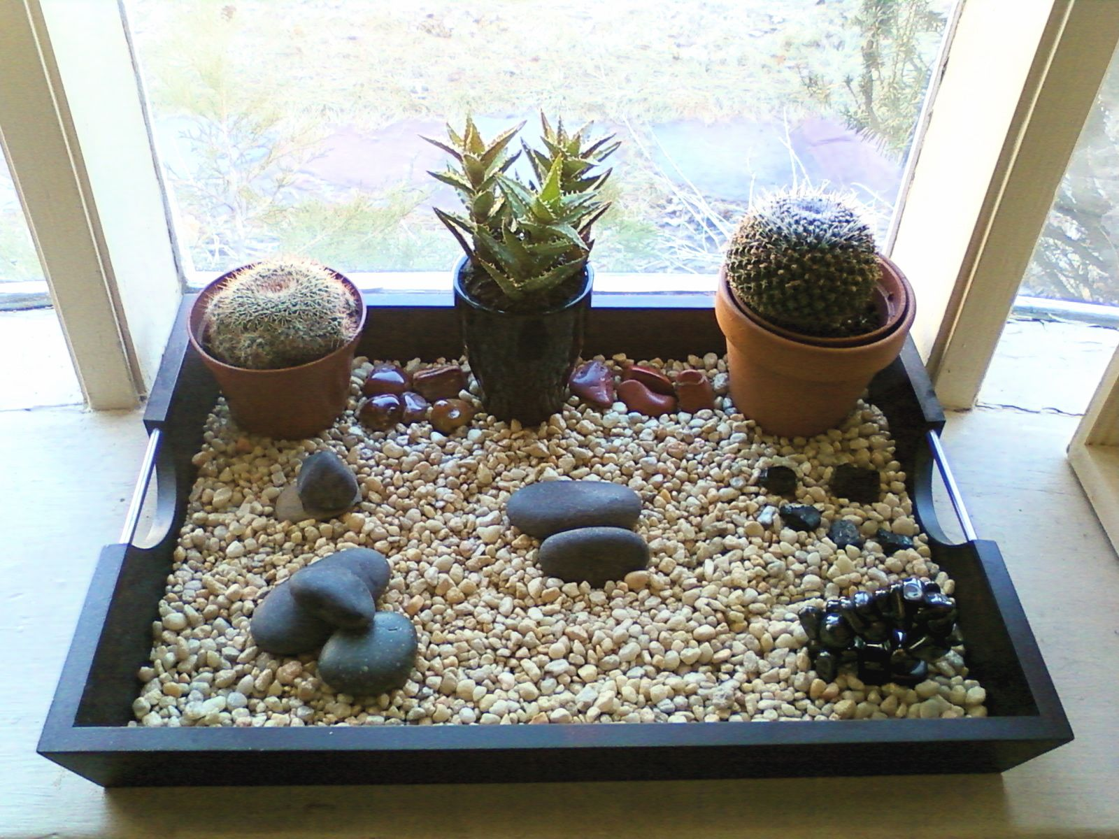 Indoor Zen Garden Ideas Impressive Indoor Rock Garden Dips Zen Rock Garden