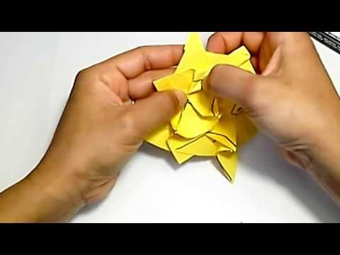 Origami tutorial another kind of lily flower youtube origami origami paper mightylinksfo