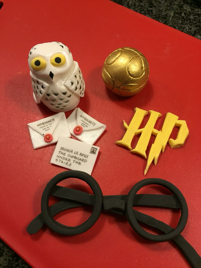 Harry Potter Fondant Cake Toppers Harry Potter Cake