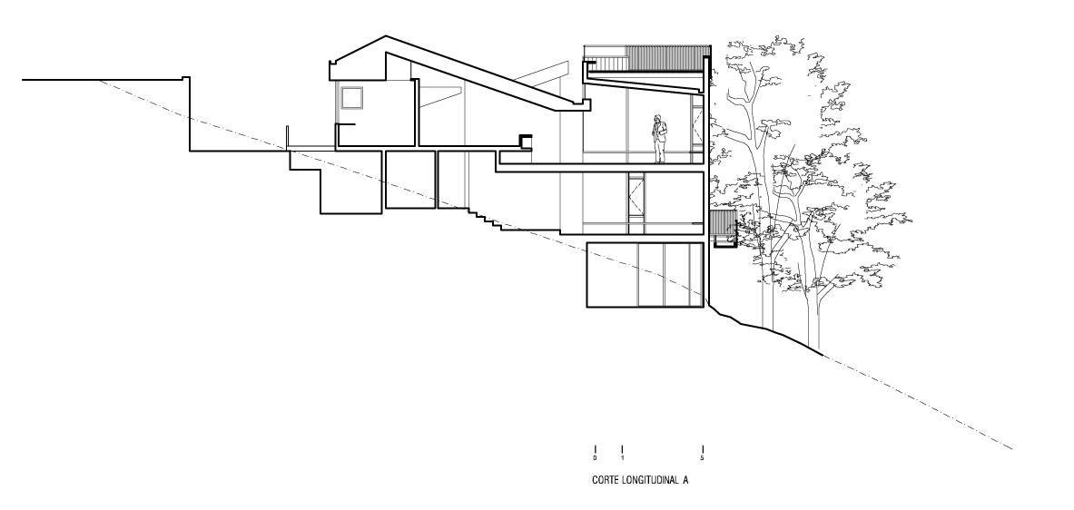 Planos casa en el cerro pochoco carre o sartori - Planos de arquitectos ...