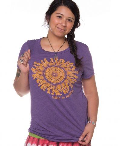 Walking on Sunshine T-Shirt | Nature T-Shirts | Soul Flower
