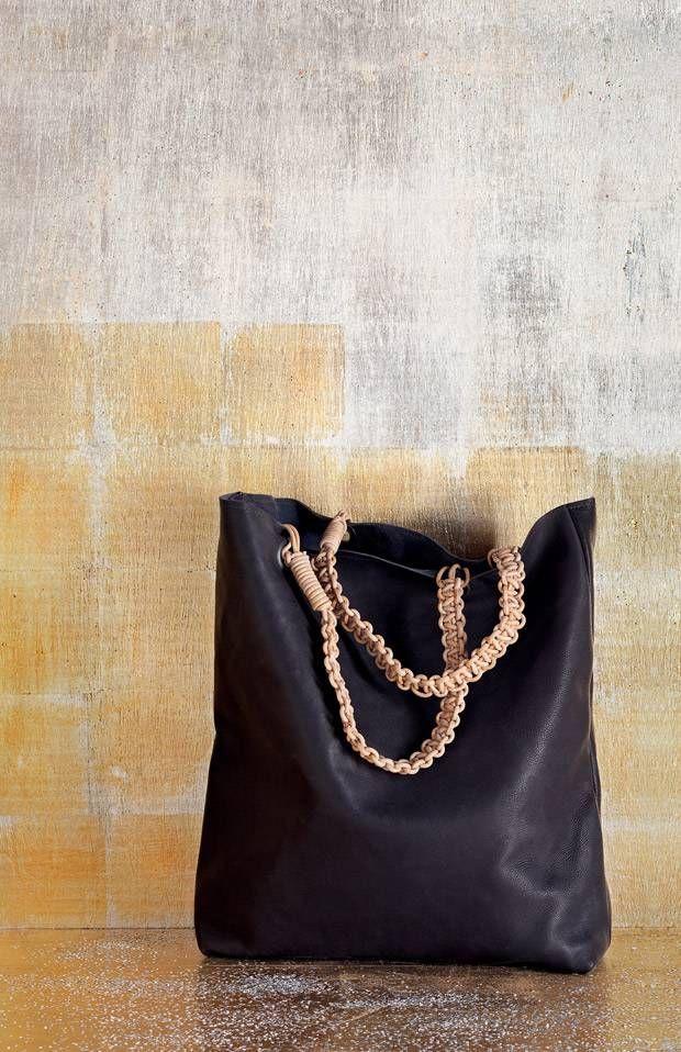 Anleitung: Ledertasche selber machen | Nähen | Pinterest