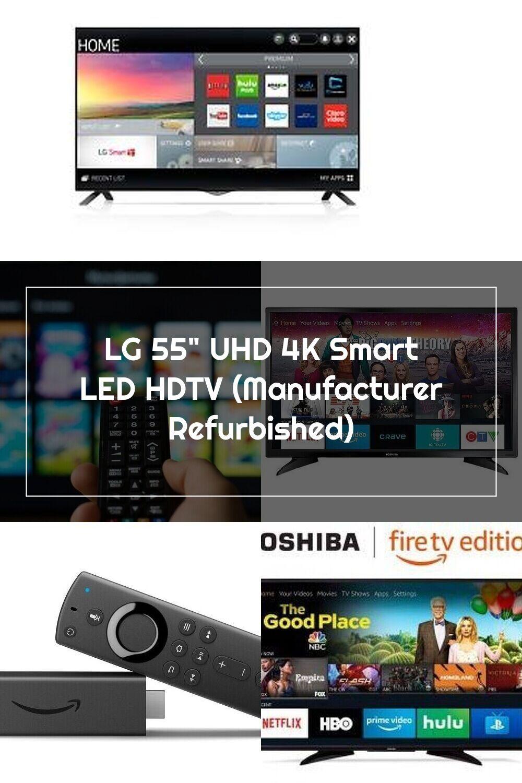 Lg 55 uhd 4k smart led hdtv manufacturer refurbished in