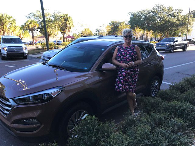 Mrs. Marianne Onks came into Lakeland Hyundai in the hopes of ...